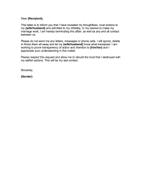 No Contact Letter. With A Cover Letters Easy Letter To Write The ...